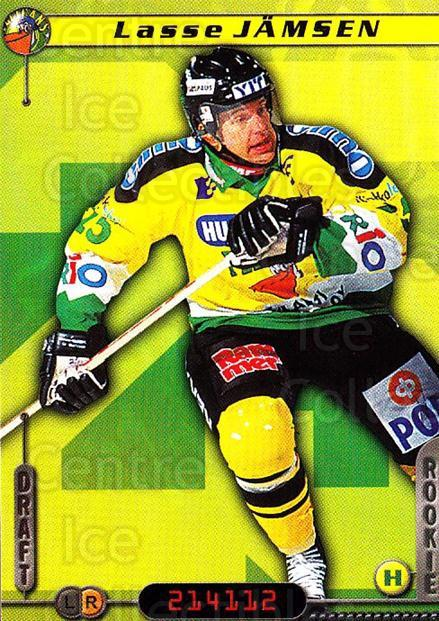 2000-01 Finnish Cardset #316 Lasse Jamsen<br/>6 In Stock - $2.00 each - <a href=https://centericecollectibles.foxycart.com/cart?name=2000-01%20Finnish%20Cardset%20%23316%20Lasse%20Jamsen...&quantity_max=6&price=$2.00&code=161754 class=foxycart> Buy it now! </a>