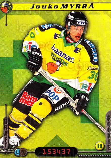 2000-01 Finnish Cardset #317 Jouko Myrra<br/>7 In Stock - $2.00 each - <a href=https://centericecollectibles.foxycart.com/cart?name=2000-01%20Finnish%20Cardset%20%23317%20Jouko%20Myrra...&quantity_max=7&price=$2.00&code=161755 class=foxycart> Buy it now! </a>