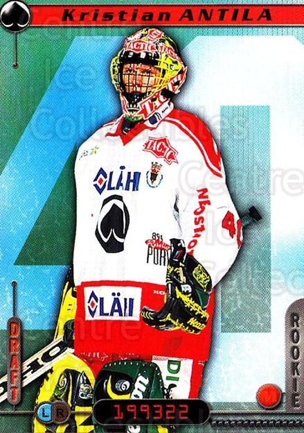 2000-01 Finnish Cardset #343 Kristian Antila<br/>5 In Stock - $2.00 each - <a href=https://centericecollectibles.foxycart.com/cart?name=2000-01%20Finnish%20Cardset%20%23343%20Kristian%20Antila...&price=$2.00&code=161783 class=foxycart> Buy it now! </a>
