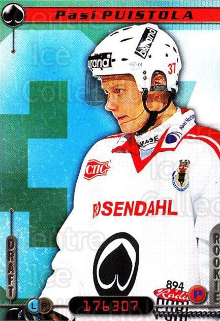2000-01 Finnish Cardset #344 Pasi Puistola<br/>6 In Stock - $2.00 each - <a href=https://centericecollectibles.foxycart.com/cart?name=2000-01%20Finnish%20Cardset%20%23344%20Pasi%20Puistola...&price=$2.00&code=161784 class=foxycart> Buy it now! </a>