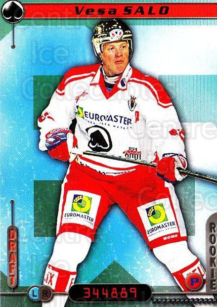 2000-01 Finnish Cardset #345 Vesa Salo<br/>6 In Stock - $2.00 each - <a href=https://centericecollectibles.foxycart.com/cart?name=2000-01%20Finnish%20Cardset%20%23345%20Vesa%20Salo...&price=$2.00&code=161785 class=foxycart> Buy it now! </a>
