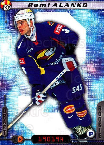 2000-01 Finnish Cardset #42 Rami Alanko<br/>4 In Stock - $2.00 each - <a href=https://centericecollectibles.foxycart.com/cart?name=2000-01%20Finnish%20Cardset%20%2342%20Rami%20Alanko...&price=$2.00&code=161808 class=foxycart> Buy it now! </a>