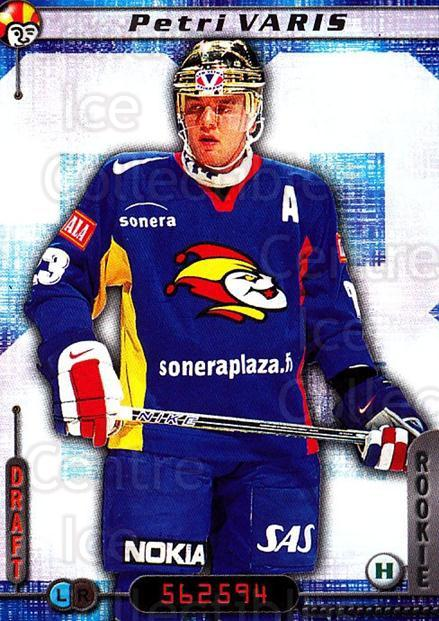 2000-01 Finnish Cardset #43 Petri Varis<br/>7 In Stock - $2.00 each - <a href=https://centericecollectibles.foxycart.com/cart?name=2000-01%20Finnish%20Cardset%20%2343%20Petri%20Varis...&price=$2.00&code=161809 class=foxycart> Buy it now! </a>