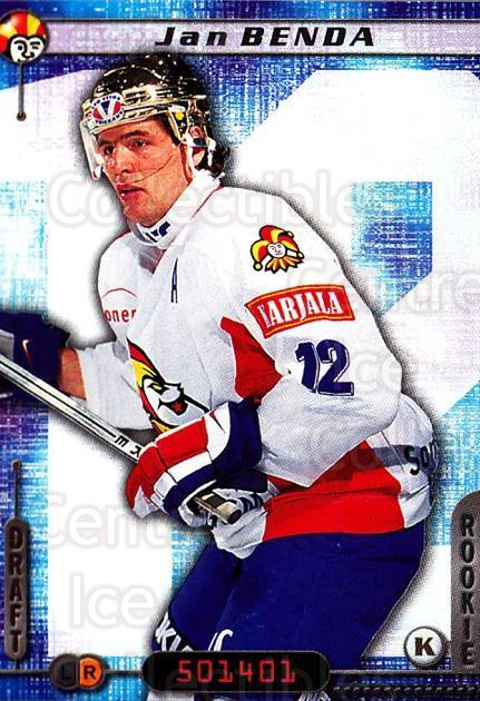 2000-01 Finnish Cardset #44 Jan Benda<br/>1 In Stock - $2.00 each - <a href=https://centericecollectibles.foxycart.com/cart?name=2000-01%20Finnish%20Cardset%20%2344%20Jan%20Benda...&price=$2.00&code=161810 class=foxycart> Buy it now! </a>