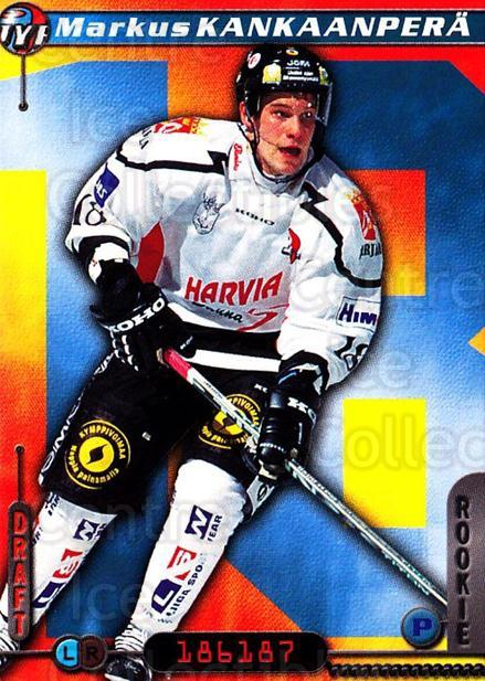 2000-01 Finnish Cardset #46 Markus Kankaanpera<br/>7 In Stock - $2.00 each - <a href=https://centericecollectibles.foxycart.com/cart?name=2000-01%20Finnish%20Cardset%20%2346%20Markus%20Kankaanp...&quantity_max=7&price=$2.00&code=161812 class=foxycart> Buy it now! </a>
