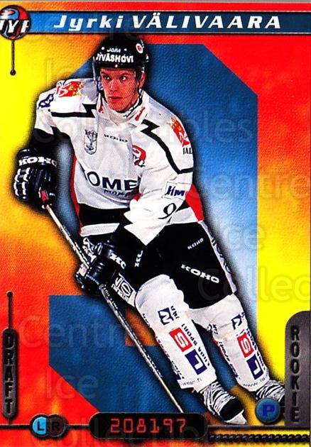 2000-01 Finnish Cardset #48 Jyrki Valivaara<br/>5 In Stock - $2.00 each - <a href=https://centericecollectibles.foxycart.com/cart?name=2000-01%20Finnish%20Cardset%20%2348%20Jyrki%20Valivaara...&quantity_max=5&price=$2.00&code=161814 class=foxycart> Buy it now! </a>