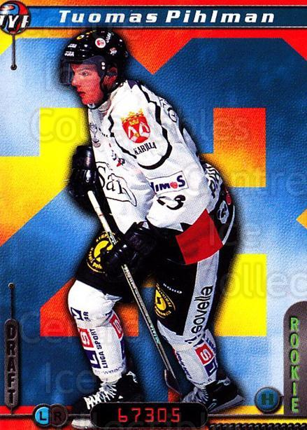 2000-01 Finnish Cardset #49 Tuomas Pihlman<br/>7 In Stock - $2.00 each - <a href=https://centericecollectibles.foxycart.com/cart?name=2000-01%20Finnish%20Cardset%20%2349%20Tuomas%20Pihlman...&quantity_max=7&price=$2.00&code=161815 class=foxycart> Buy it now! </a>