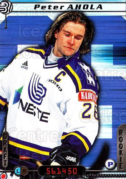 2000-01 Finnish Cardset #5 Peter Ahola<br/>5 In Stock - $2.00 each - <a href=https://centericecollectibles.foxycart.com/cart?name=2000-01%20Finnish%20Cardset%20%235%20Peter%20Ahola...&quantity_max=5&price=$2.00&code=161816 class=foxycart> Buy it now! </a>