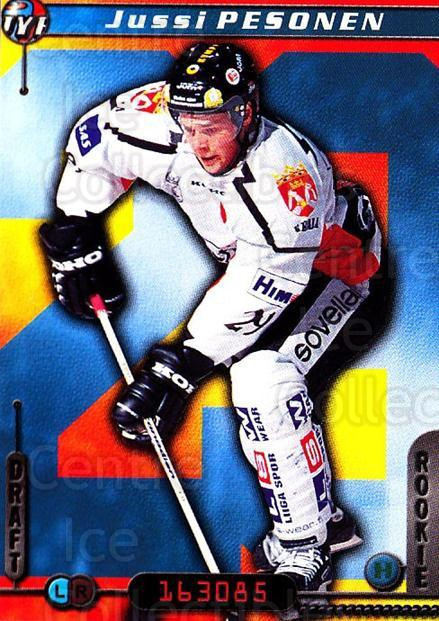 2000-01 Finnish Cardset #50 Jussi Pesonen<br/>7 In Stock - $2.00 each - <a href=https://centericecollectibles.foxycart.com/cart?name=2000-01%20Finnish%20Cardset%20%2350%20Jussi%20Pesonen...&price=$2.00&code=161817 class=foxycart> Buy it now! </a>