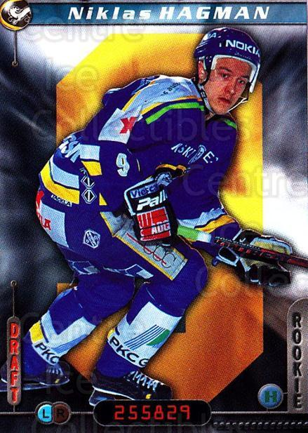 2000-01 Finnish Cardset #57 Niklas Hagman<br/>7 In Stock - $2.00 each - <a href=https://centericecollectibles.foxycart.com/cart?name=2000-01%20Finnish%20Cardset%20%2357%20Niklas%20Hagman...&quantity_max=7&price=$2.00&code=161824 class=foxycart> Buy it now! </a>