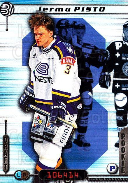 2000-01 Finnish Cardset #6 Jermu Pisto<br/>7 In Stock - $2.00 each - <a href=https://centericecollectibles.foxycart.com/cart?name=2000-01%20Finnish%20Cardset%20%236%20Jermu%20Pisto...&quantity_max=7&price=$2.00&code=161827 class=foxycart> Buy it now! </a>