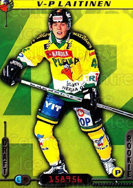 2000-01 Finnish Cardset #70 Veli-Pekka Laitinen<br/>6 In Stock - $2.00 each - <a href=https://centericecollectibles.foxycart.com/cart?name=2000-01%20Finnish%20Cardset%20%2370%20Veli-Pekka%20Lait...&quantity_max=6&price=$2.00&code=161839 class=foxycart> Buy it now! </a>