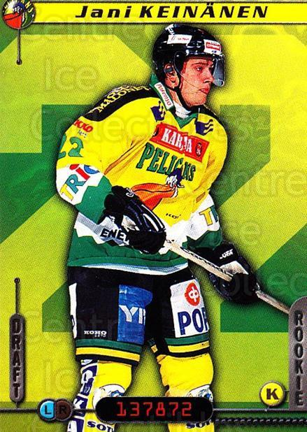 2000-01 Finnish Cardset #73 Jani Keinanen<br/>7 In Stock - $2.00 each - <a href=https://centericecollectibles.foxycart.com/cart?name=2000-01%20Finnish%20Cardset%20%2373%20Jani%20Keinanen...&quantity_max=7&price=$2.00&code=161842 class=foxycart> Buy it now! </a>