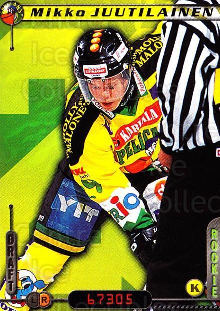 2000-01 Finnish Cardset #75 Mikko Juutilainen<br/>7 In Stock - $2.00 each - <a href=https://centericecollectibles.foxycart.com/cart?name=2000-01%20Finnish%20Cardset%20%2375%20Mikko%20Juutilain...&quantity_max=7&price=$2.00&code=161844 class=foxycart> Buy it now! </a>
