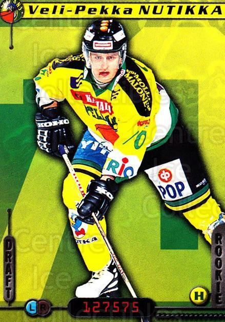 2000-01 Finnish Cardset #76 Veli-Pekka Nutikka<br/>6 In Stock - $2.00 each - <a href=https://centericecollectibles.foxycart.com/cart?name=2000-01%20Finnish%20Cardset%20%2376%20Veli-Pekka%20Nuti...&quantity_max=6&price=$2.00&code=161845 class=foxycart> Buy it now! </a>