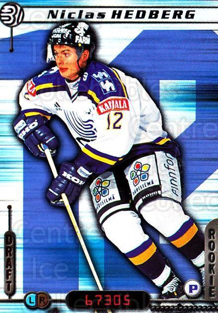 2000-01 Finnish Cardset #8 Niclas Hedberg<br/>7 In Stock - $2.00 each - <a href=https://centericecollectibles.foxycart.com/cart?name=2000-01%20Finnish%20Cardset%20%238%20Niclas%20Hedberg...&quantity_max=7&price=$2.00&code=161849 class=foxycart> Buy it now! </a>