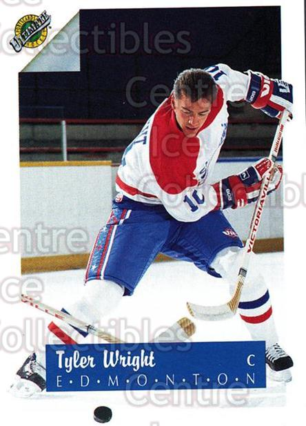 1991 Ultimate Draft French #10 Tyler Wright<br/>12 In Stock - $1.00 each - <a href=https://centericecollectibles.foxycart.com/cart?name=1991%20Ultimate%20Draft%20French%20%2310%20Tyler%20Wright...&quantity_max=12&price=$1.00&code=16184 class=foxycart> Buy it now! </a>