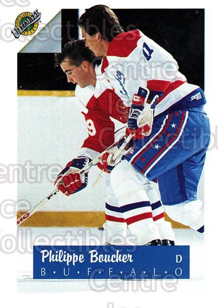 1991 Ultimate Draft French #11 Philippe Boucher<br/>13 In Stock - $1.00 each - <a href=https://centericecollectibles.foxycart.com/cart?name=1991%20Ultimate%20Draft%20French%20%2311%20Philippe%20Bouche...&quantity_max=13&price=$1.00&code=16185 class=foxycart> Buy it now! </a>