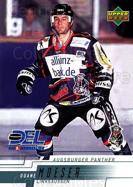 2000-01 German DEL #24 Duanne Moeser<br/>5 In Stock - $2.00 each - <a href=https://centericecollectibles.foxycart.com/cart?name=2000-01%20German%20DEL%20%2324%20Duanne%20Moeser...&quantity_max=5&price=$2.00&code=161871 class=foxycart> Buy it now! </a>