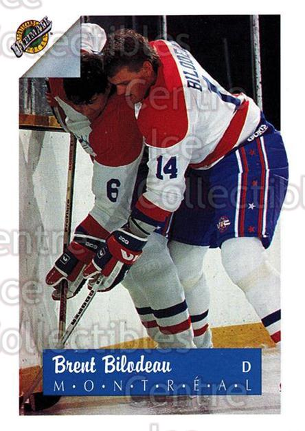 1991 Ultimate Draft French #14 Brent Bilodeau<br/>13 In Stock - $1.00 each - <a href=https://centericecollectibles.foxycart.com/cart?name=1991%20Ultimate%20Draft%20French%20%2314%20Brent%20Bilodeau...&quantity_max=13&price=$1.00&code=16187 class=foxycart> Buy it now! </a>
