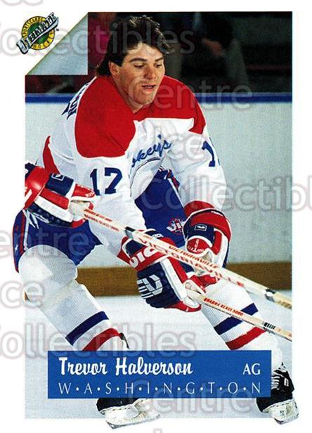 1991 Ultimate Draft French #17 Trevor Halverson<br/>12 In Stock - $1.00 each - <a href=https://centericecollectibles.foxycart.com/cart?name=1991%20Ultimate%20Draft%20French%20%2317%20Trevor%20Halverso...&quantity_max=12&price=$1.00&code=16189 class=foxycart> Buy it now! </a>