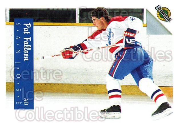 1991 Ultimate Draft French #2 Pat Falloon<br/>11 In Stock - $1.00 each - <a href=https://centericecollectibles.foxycart.com/cart?name=1991%20Ultimate%20Draft%20French%20%232%20Pat%20Falloon...&quantity_max=11&price=$1.00&code=16192 class=foxycart> Buy it now! </a>