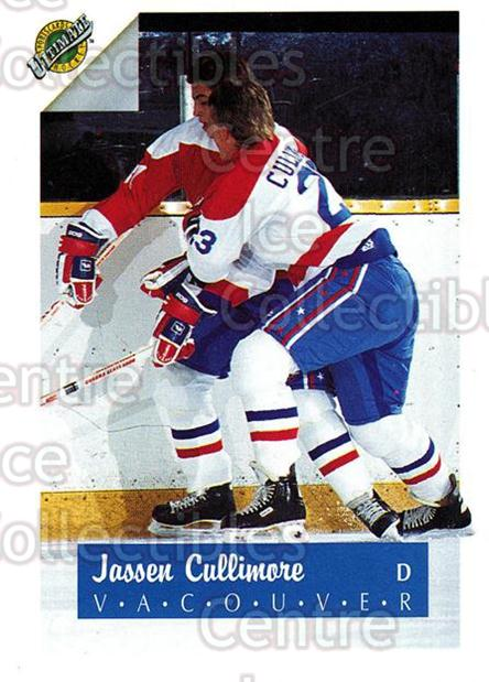 1991 Ultimate Draft French #23 Jassen Cullimore<br/>12 In Stock - $1.00 each - <a href=https://centericecollectibles.foxycart.com/cart?name=1991%20Ultimate%20Draft%20French%20%2323%20Jassen%20Cullimor...&quantity_max=12&price=$1.00&code=16196 class=foxycart> Buy it now! </a>