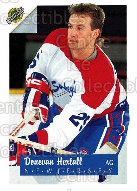 1991 Ultimate Draft French #25 Donevan Hextall<br/>12 In Stock - $1.00 each - <a href=https://centericecollectibles.foxycart.com/cart?name=1991%20Ultimate%20Draft%20French%20%2325%20Donevan%20Hextall...&quantity_max=12&price=$1.00&code=16198 class=foxycart> Buy it now! </a>