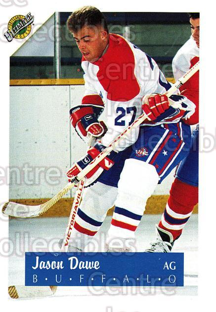 1991 Ultimate Draft French #27 Jason Dawe<br/>13 In Stock - $1.00 each - <a href=https://centericecollectibles.foxycart.com/cart?name=1991%20Ultimate%20Draft%20French%20%2327%20Jason%20Dawe...&quantity_max=13&price=$1.00&code=16199 class=foxycart> Buy it now! </a>