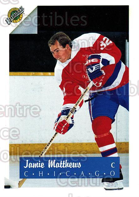 1991 Ultimate Draft French #32 Jamie Matthews<br/>13 In Stock - $1.00 each - <a href=https://centericecollectibles.foxycart.com/cart?name=1991%20Ultimate%20Draft%20French%20%2332%20Jamie%20Matthews...&quantity_max=13&price=$1.00&code=16204 class=foxycart> Buy it now! </a>