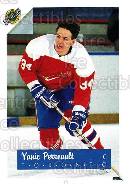 1991 Ultimate Draft French #34 Yanic Perreault<br/>12 In Stock - $1.00 each - <a href=https://centericecollectibles.foxycart.com/cart?name=1991%20Ultimate%20Draft%20French%20%2334%20Yanic%20Perreault...&quantity_max=12&price=$1.00&code=16205 class=foxycart> Buy it now! </a>