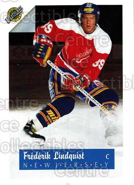 1991 Ultimate Draft French #39 Fredrik Lindquist<br/>13 In Stock - $1.00 each - <a href=https://centericecollectibles.foxycart.com/cart?name=1991%20Ultimate%20Draft%20French%20%2339%20Fredrik%20Lindqui...&quantity_max=13&price=$1.00&code=16209 class=foxycart> Buy it now! </a>