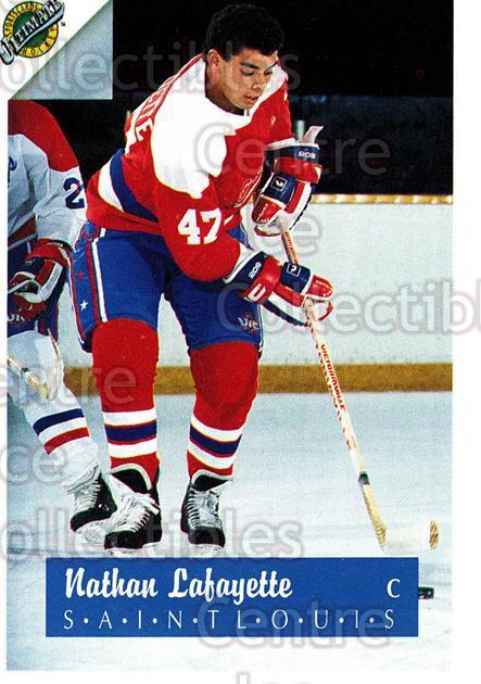 1991 Ultimate Draft French #46 Nathan Lafayette<br/>13 In Stock - $1.00 each - <a href=https://centericecollectibles.foxycart.com/cart?name=1991%20Ultimate%20Draft%20French%20%2346%20Nathan%20Lafayett...&quantity_max=13&price=$1.00&code=16214 class=foxycart> Buy it now! </a>