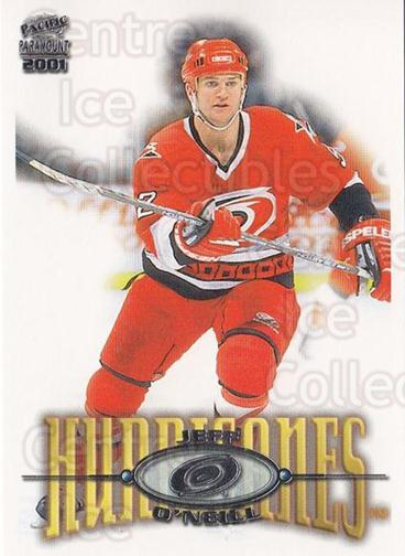 2000-01 Paramount #45 Jeff O'Neill<br/>5 In Stock - $1.00 each - <a href=https://centericecollectibles.foxycart.com/cart?name=2000-01%20Paramount%20%2345%20Jeff%20O'Neill...&quantity_max=5&price=$1.00&code=162155 class=foxycart> Buy it now! </a>