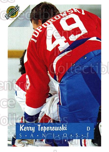 1991 Ultimate Draft French #48 Kerry Toporowski<br/>12 In Stock - $1.00 each - <a href=https://centericecollectibles.foxycart.com/cart?name=1991%20Ultimate%20Draft%20French%20%2348%20Kerry%20Toporowsk...&quantity_max=12&price=$1.00&code=16216 class=foxycart> Buy it now! </a>