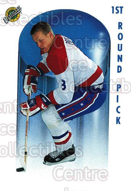 1991 Ultimate Draft French #64 Patrick Poulin<br/>14 In Stock - $1.00 each - <a href=https://centericecollectibles.foxycart.com/cart?name=1991%20Ultimate%20Draft%20French%20%2364%20Patrick%20Poulin...&quantity_max=14&price=$1.00&code=16227 class=foxycart> Buy it now! </a>