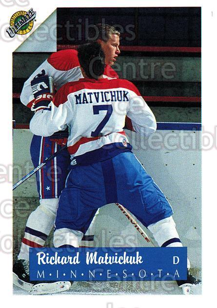 1991 Ultimate Draft French #7 Richard Matvichuk<br/>12 In Stock - $1.00 each - <a href=https://centericecollectibles.foxycart.com/cart?name=1991%20Ultimate%20Draft%20French%20%237%20Richard%20Matvich...&quantity_max=12&price=$1.00&code=16233 class=foxycart> Buy it now! </a>