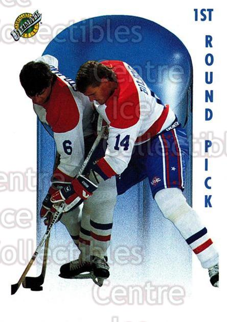 1991 Ultimate Draft French #70 Brent Bilodeau<br/>13 In Stock - $1.00 each - <a href=https://centericecollectibles.foxycart.com/cart?name=1991%20Ultimate%20Draft%20French%20%2370%20Brent%20Bilodeau...&quantity_max=13&price=$1.00&code=16234 class=foxycart> Buy it now! </a>