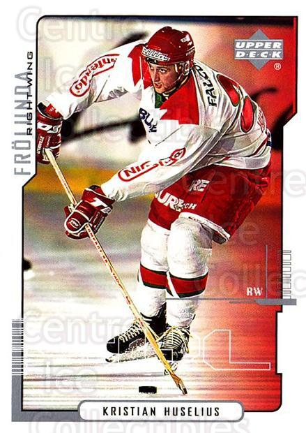 2000-01 Swedish Upper Deck #71 Kristian Huselius<br/>9 In Stock - $2.00 each - <a href=https://centericecollectibles.foxycart.com/cart?name=2000-01%20Swedish%20Upper%20Deck%20%2371%20Kristian%20Huseli...&quantity_max=9&price=$2.00&code=162508 class=foxycart> Buy it now! </a>