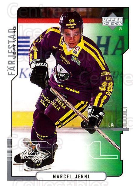 2000-01 Swedish Upper Deck #91 Marcel Jenni<br/>5 In Stock - $2.00 each - <a href=https://centericecollectibles.foxycart.com/cart?name=2000-01%20Swedish%20Upper%20Deck%20%2391%20Marcel%20Jenni...&quantity_max=5&price=$2.00&code=162526 class=foxycart> Buy it now! </a>