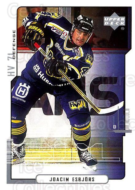 2000-01 Swedish Upper Deck #93 Joacim Esbjors<br/>5 In Stock - $2.00 each - <a href=https://centericecollectibles.foxycart.com/cart?name=2000-01%20Swedish%20Upper%20Deck%20%2393%20Joacim%20Esbjors...&price=$2.00&code=162527 class=foxycart> Buy it now! </a>