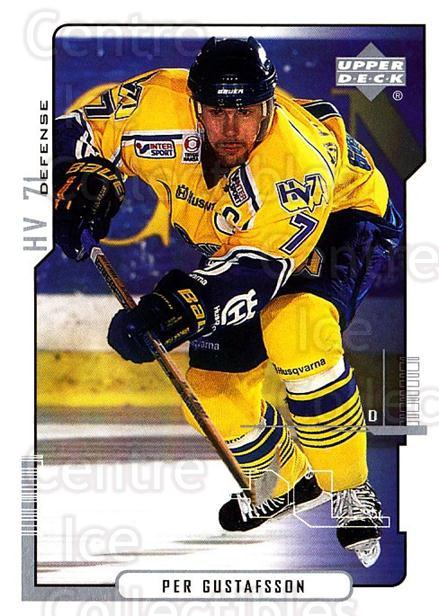 2000-01 Swedish Upper Deck #94 Per Gustafsson<br/>6 In Stock - $2.00 each - <a href=https://centericecollectibles.foxycart.com/cart?name=2000-01%20Swedish%20Upper%20Deck%20%2394%20Per%20Gustafsson...&price=$2.00&code=162528 class=foxycart> Buy it now! </a>