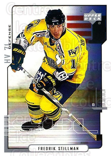 2000-01 Swedish Upper Deck #95 Fredrik Stillman<br/>7 In Stock - $2.00 each - <a href=https://centericecollectibles.foxycart.com/cart?name=2000-01%20Swedish%20Upper%20Deck%20%2395%20Fredrik%20Stillma...&price=$2.00&code=162529 class=foxycart> Buy it now! </a>