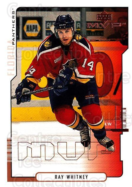 2000-01 Upper Deck MVP #80 Ray Whitney<br/>5 In Stock - $1.00 each - <a href=https://centericecollectibles.foxycart.com/cart?name=2000-01%20Upper%20Deck%20MVP%20%2380%20Ray%20Whitney...&quantity_max=5&price=$1.00&code=162575 class=foxycart> Buy it now! </a>