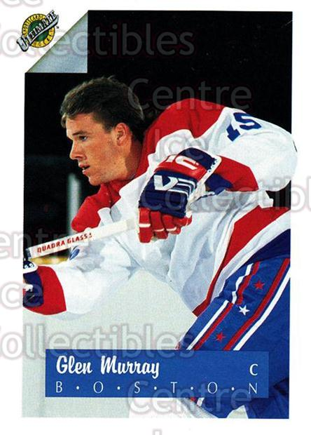 1991 Ultimate Draft #15 Glen Murray<br/>11 In Stock - $1.00 each - <a href=https://centericecollectibles.foxycart.com/cart?name=1991%20Ultimate%20Draft%20%2315%20Glen%20Murray...&quantity_max=11&price=$1.00&code=16260 class=foxycart> Buy it now! </a>