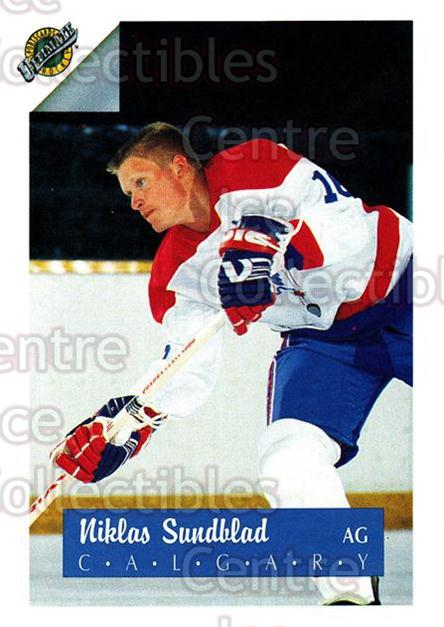 1991 Ultimate Draft #16 Niklas Sundblad<br/>9 In Stock - $1.00 each - <a href=https://centericecollectibles.foxycart.com/cart?name=1991%20Ultimate%20Draft%20%2316%20Niklas%20Sundblad...&quantity_max=9&price=$1.00&code=16261 class=foxycart> Buy it now! </a>