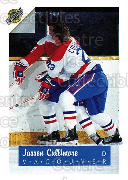 1991 Ultimate Draft #23 Jassen Cullimore<br/>10 In Stock - $1.00 each - <a href=https://centericecollectibles.foxycart.com/cart?name=1991%20Ultimate%20Draft%20%2323%20Jassen%20Cullimor...&quantity_max=10&price=$1.00&code=16269 class=foxycart> Buy it now! </a>