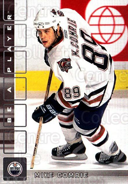 2001-02 BAP Memorabilia #38 Mike Comrie<br/>6 In Stock - $1.00 each - <a href=https://centericecollectibles.foxycart.com/cart?name=2001-02%20BAP%20Memorabilia%20%2338%20Mike%20Comrie...&quantity_max=6&price=$1.00&code=162738 class=foxycart> Buy it now! </a>