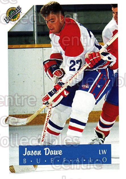 1991 Ultimate Draft #27 Jason Dawe<br/>10 In Stock - $1.00 each - <a href=https://centericecollectibles.foxycart.com/cart?name=1991%20Ultimate%20Draft%20%2327%20Jason%20Dawe...&quantity_max=10&price=$1.00&code=16273 class=foxycart> Buy it now! </a>
