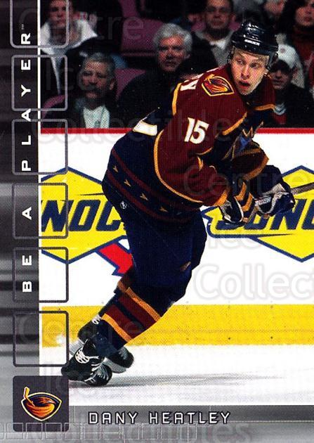 2001-02 BAP Memorabilia #385 Dany Heatley<br/>6 In Stock - $1.00 each - <a href=https://centericecollectibles.foxycart.com/cart?name=2001-02%20BAP%20Memorabilia%20%23385%20Dany%20Heatley...&quantity_max=6&price=$1.00&code=162743 class=foxycart> Buy it now! </a>